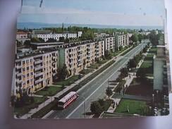 Roemenië Romania Rumenien Sibiu Street With Bus - Roemenië
