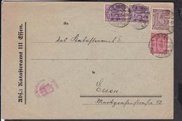 Deutsches Reich Dienstmarken Stempel Essen 1922 - Deutschland