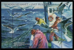 ALAND 2012 - PESCA - FISHING - PECHER - MINI SHEET - Ålandinseln