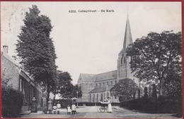 Kalmthout Calmpthout 1909 De Kerk Geanimeerd Hoelen Cappellen Nr. 4293 ZEER GOEDE STAAT - Kalmthout