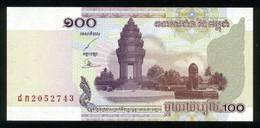 Kambodscha 2001, 100 Riels - UNC, Kassenfrisch - Cambodia