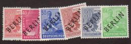 BER SC #9N11-16 MNH 1948 German Defins. W/ovprt (B), CV ~$37.30 - [5] Berlin