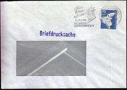Germany Villingen - Schwenningen 1985 / Rooster / Süd West Messe / Fair / Machine Stamp - Farm