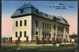 Kula, Drz. Gradjanska Skola, Allami Polgari Iskola,  1929, Okrug Zapadna Backa, Vojvodina, H. Kiefer - Serbien