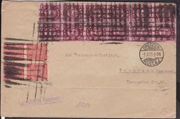 Deutsches Reich Dienstmarken Stempel Dresden  1923 , Stempel Ansehen ! - Lettres & Documents