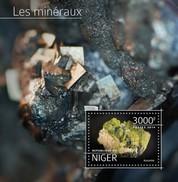 NIGER 2014 SHEET MINERALS MINERAUX MINERALES MINERAIS MINERALIEN Nig14520b - Niger (1960-...)