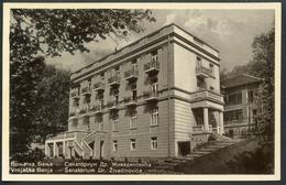 Vrnjacka Banja,  Sanatorium Dr. Zivadinovica,  23.10.1937, Raska, - Serbien
