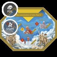 SOLOMON ISLANDS 2014 SHEET POPE JOHN PAUL II PAPE JEAN PAUL PAPA JUAN PABLO POPES PAPES PAPAS RELIGION Slm14405a - Solomoneilanden (1978-...)