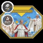 SOLOMON ISLANDS 2014 SHEET POPE JOHN PAUL II PAPE JEAN PAUL PAPA JUAN PABLO POPES PAPES PAPAS RELIGION Slm14405b - Solomoneilanden (1978-...)