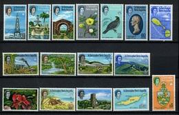 1954 - ST. CHRISTOPHER, NEVIS & ANGUILLA  - Mi. Nr. 138X/153X - LH - (CW2427.37) - St.Kitts E Nevis ( 1983-...)