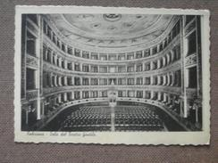 FABRIANO - 1937 - SALA DEL TEATRO GENTILE     -     -BELLA - Italy