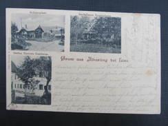 AK ALHARTING B. LINZ LEONDING 1900  // D*24072 - Linz