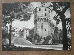 IESI - TORRIONE  E VIA  MAZZINI        -     -BELLA - Italy