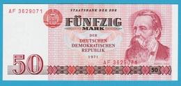 DDR 50 MARK 1971  Serie AF  P# 30a  Friedrich Engels - [ 6] 1949-1990 : RDA - Rep. Dem. Tedesca