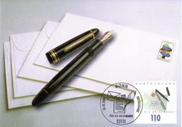 """BRD Maximumkarte """"Für Die Briefmarke"""" Mi 2148 ESSt 12.10.2000 BONN - BRD"""