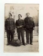 Photo Représentant Un Groupe De Chasseurs Alpins - Guerre, Militaire
