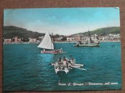 PORTO S.GIORGIO  1962- PANORAMA DAL MARE  -    - -     -BELLA - Italy