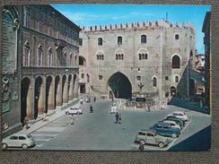 FABRIANO - PALAZZO DEL PODESTA' -AUTO EPOCA   -    - -     -BELLA - Italy