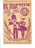 Le Trompette En Bois - Editions Francis Salabert - Copyright 1924 - Chant Soliste