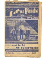 Dans Ma Péniche - Editons Ch. Borel-Clerc - Copyright 1930 - Chant Soliste