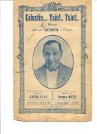 Célestin... Tsin!.. Tsin!.. - Editons Ch. L.Maillochon - Copyright 1924 - Musique & Instruments