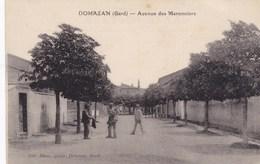 CPA Domazan (Gard), Avenue Des Maronniers (pk34271) - Andere Gemeenten
