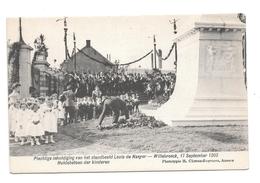 Willebroeck Inhuldiging 1905  Huldebetoon Der Kinderen    P110 - Willebroek
