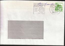 Germany Munich 1987 / Beers / Bier / Münchner Reinheits Gebot / Machine Stamp
