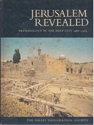 Jerusalem Revealed Archaeology In The Holy City 1968-1974 - Books, Magazines, Comics