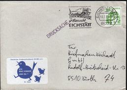 Germany Eichstätt 1984 / Castles / Bridge / Machine Stamp - Castelli