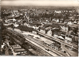 CALLAC (Ex Côtes-du-Nord) - Vue Aérienne Rare (gare Et Vue Générale - Callac