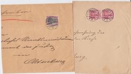 COLL Belege DR Germania Oldenburg U Umgebung 1901-12 SLG - Timbres