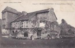 CPA Aveyron, Sévérac Le Château, Ruines Du Château (pk34291) - Altri Comuni