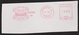 M 856) AFSt Hamburg 1994: ROTEX DIN (Flexible Kabel- Und Rohrdurchführungen Zylinder) (Briefausschnitt Cut) - Sciences