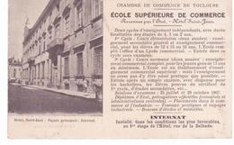 Toulouse - CP Publicitaire De L'école Supérieure De Commerce - Toulouse