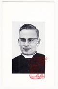 DP Foto EH Pastoor Priester Robert FLORIJN - Zwevegem Wervik Ieper Marke - Imágenes Religiosas