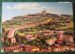 CARTOLINA -  BOLOGNA PORTICI E SANTUARIO DI S LUCIA   B  1965 - Bologna