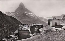 Switzerland Findelen Ob Zermatt Mit Matterhorn 1956 Photo - VS Valais