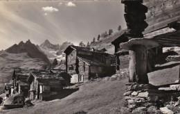 Switzerland Zermatt Findelen Gabelhoerner 1970 Photo - VS Valais