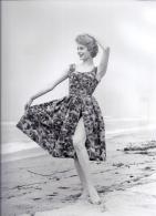 Fotografia Moda  Donna Anni '60  Tizzoni Tess. Scacchi Foto Per Redazionale 50 A