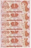 HONDURAS 1 LEMPIRA 2014 UNC P 89 NEW ( 5 Billets ) - Honduras