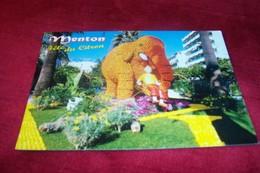 MENTON  65 Eme FETE DU CITRON  ° LE MONDE DE TINTIN A MENTON  LE 11 03 1998 - Menton