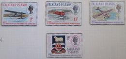 Falkland Islands  1969  MNH** # 180/183 - Islas Malvinas