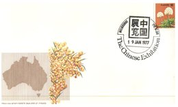 (811) Australia FDC Cover - Melbourne Chinese Exhibition - 1977 - FDC