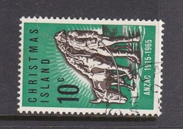Christmas Island ASC 21 1965 5oth Anniversary Gallipoli Landing Used - Christmas Island