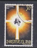 Christmas Island ASC 62 1974 Christmas 30c Star,Family Used - Christmas Island