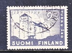 Finland 157   (o)  CASTLE  KURKU - Finland