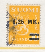 FINLAND  196   (o)   1931 Issue - Finland