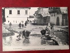 Fontaine De POGRADIE - Femmes Albanaise Lavant Leur Linge - Albania