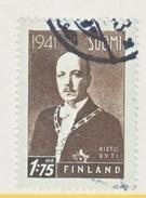 FINLAND  234   (o)   PRES.  RYTI - Finland